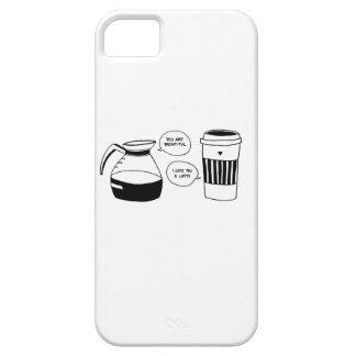 コーヒーラテのバレンタインの愛 iPhone SE/5/5s ケース