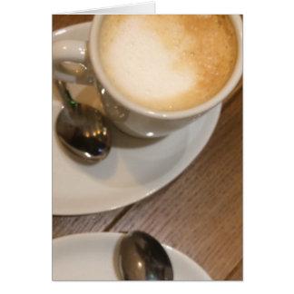 コーヒーラテの常に時間 カード