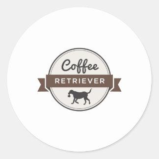 コーヒーレトリーバーのギア! ラウンドシール