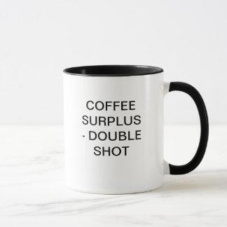 コーヒー余剰-二重打撃 マグカップ