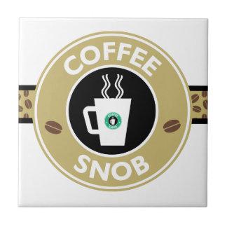 コーヒー俗物、コーヒーユーモア タイル