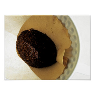 コーヒー写真撮影-挽いたコーヒーの豆 ポスター