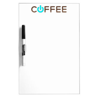 コーヒー力(青い) ホワイトボード