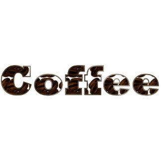 コーヒー単語アクリルPin 写真彫刻バッジ