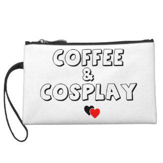コーヒー及びCosplayのリストレット クラッチ