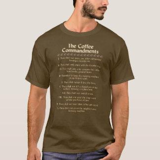 コーヒー命令ワイシャツ Tシャツ