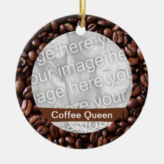 コーヒー女王のオーナメント セラミックオーナメント