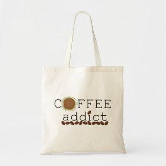 コーヒー常習者の豆 トートバッグ
