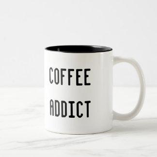 コーヒー常習者 ツートーンマグカップ