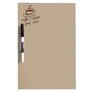 コーヒー恋人のためのカフェイン ホワイトボード