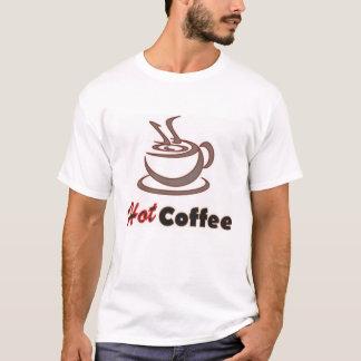 コーヒー恋人のための熱いコーヒーワイシャツ Tシャツ