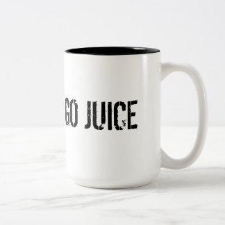 コーヒー恋人のマグ(ジュースは行きます) ツートーンマグカップ