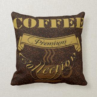 コーヒー恋人の装飾用クッション クッション
