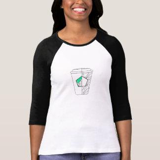 コーヒー文化緑 Tシャツ