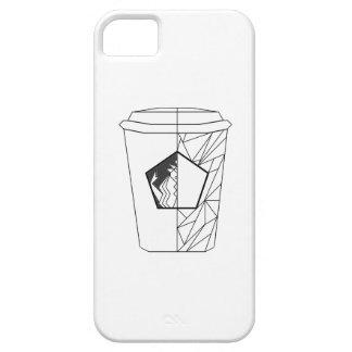 コーヒー文化電話箱 iPhone SE/5/5s ケース