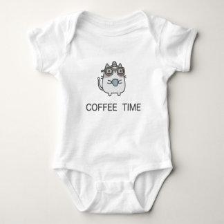 コーヒー時間 ベビーボディスーツ