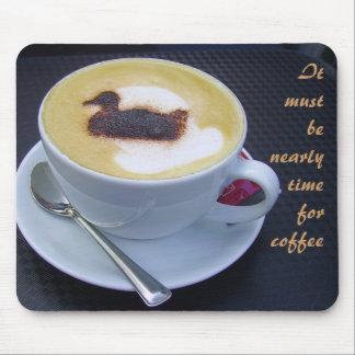 コーヒー時間 マウスパッド