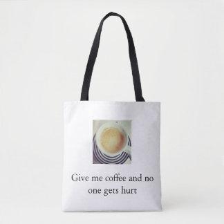 コーヒー暴力 トートバッグ