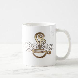 コーヒー書道のデザインのマグ コーヒーマグカップ