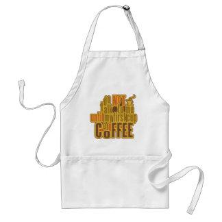 コーヒー最初エプロン-スタイル、色を選んで下さい スタンダードエプロン