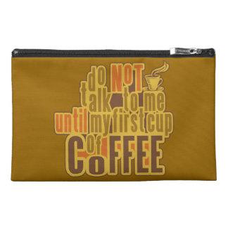 コーヒー最初カスタムなアクセサリーバッグ トラベルアクセサリーバッグ
