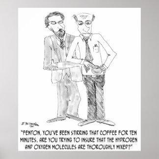 コーヒー漫画0044 ポスター