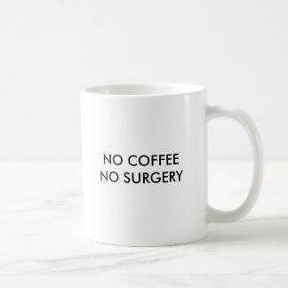 コーヒー無し外科無し、コーヒー無し外科無し コーヒーマグカップ