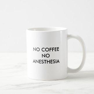 コーヒー無し麻酔無し コーヒーマグカップ