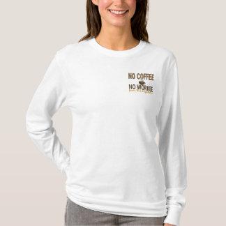コーヒー無しWorkeeのディスパッチャー無し Tシャツ