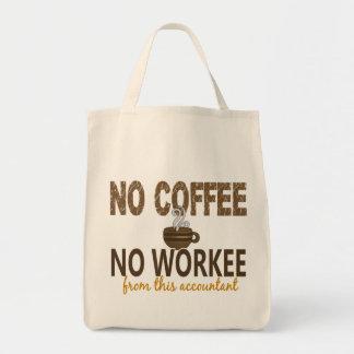 コーヒー無しWorkeeの会計士無し トートバッグ