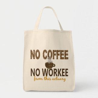 コーヒー無しWorkeeの保険計理人無し トートバッグ