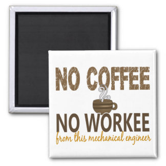 コーヒー無しWorkeeの機械工学者無し マグネット