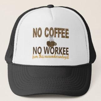 コーヒー無しWorkeeのNeuroendocrinologist無し キャップ