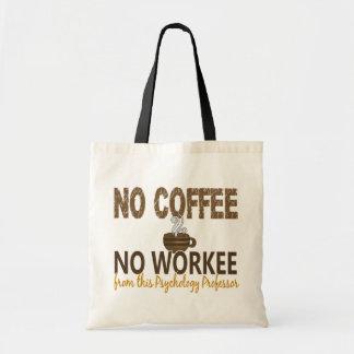 コーヒー無しWorkee心理学教授無し トートバッグ