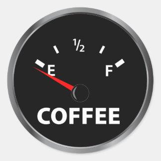 コーヒー燃料計から ラウンドシール
