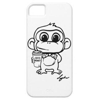 コーヒー猿 iPhone SE/5/5s ケース