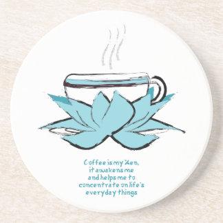 コーヒー禅 コースター
