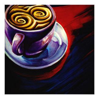コーヒー芸術のプリント(大きい) フォトプリント