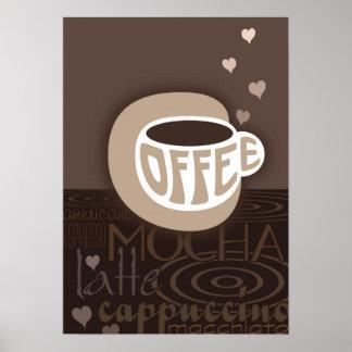 コーヒー芸術ポスター ポスター