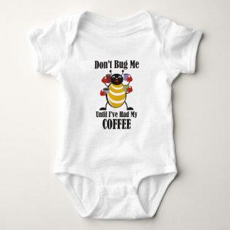 コーヒー虫 ベビーボディスーツ