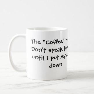 コーヒー規則 コーヒーマグカップ