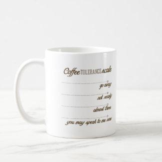 コーヒー許容スケール コーヒーマグカップ