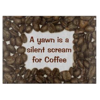 コーヒー豆のまな板 カッティングボード