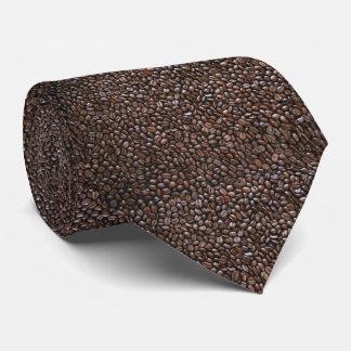 コーヒー豆のイメージのタイ ネクタイ