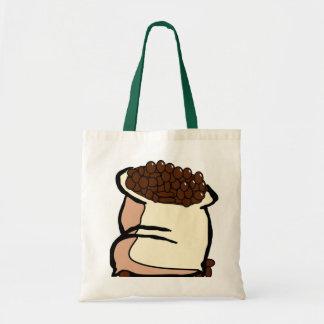 コーヒー豆のトートバックのバッグ トートバッグ