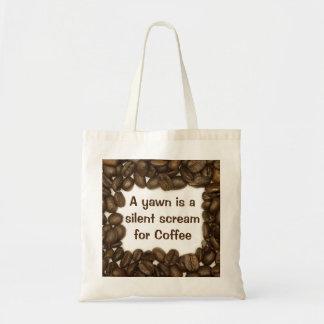 コーヒー豆のトートバック トートバッグ