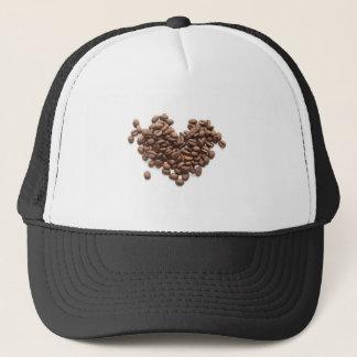 コーヒー豆のハート キャップ
