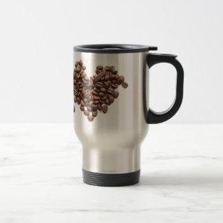 コーヒー豆のハート トラベルマグ