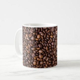 コーヒー豆の写真撮影のマグ コーヒーマグカップ