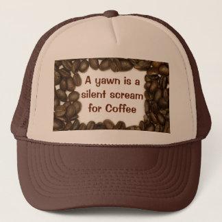 コーヒー豆の帽子 キャップ